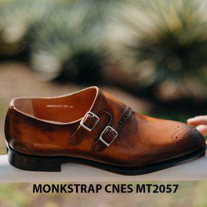 Giày tây nam chính hãng Monkstrap CNES MT2057 003