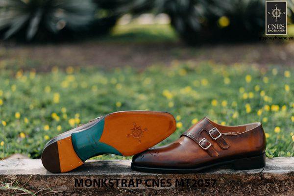 Giày tây nam chính hãng Monkstrap CNES MT2057 002