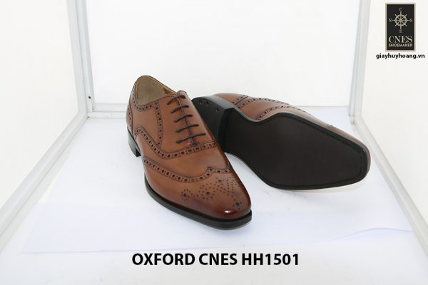 Giày tây nam Full Brogues Oxford CNES HH15101 004