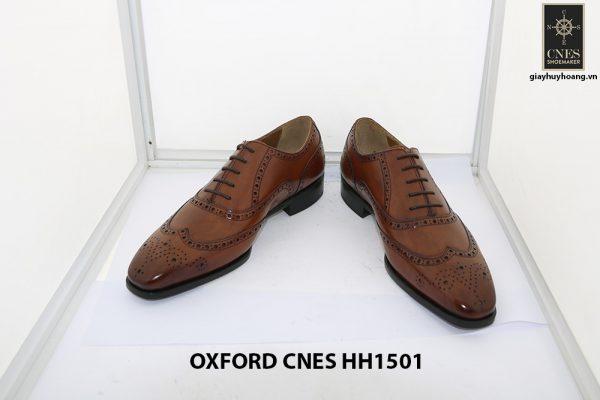 Giày tây nam Full Brogues Oxford CNES HH15101 002