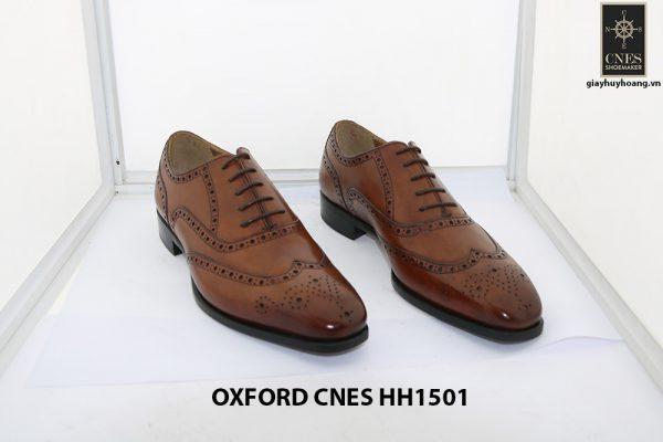 Giày tây nam Full Brogues Oxford CNES HH15101 001