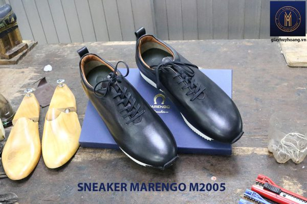 Giày da nam thời trang Sneaker Marengo M2005 001