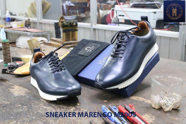 Giày da nam thời trang Sneaker Marengo M2005 007