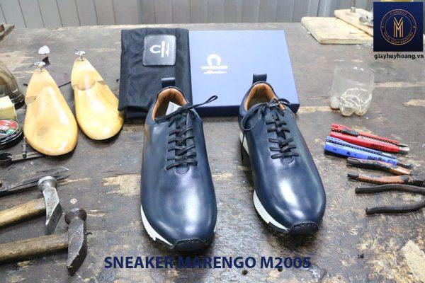 Giày da nam thời trang Sneaker Marengo M2005 004