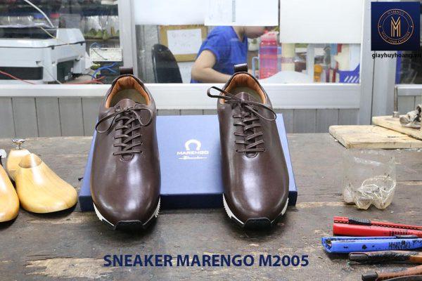 Giày da nam thời trang Sneaker Marengo M2005 003