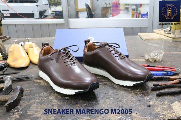 Giày da nam thời trang Sneaker Marengo M2005 002
