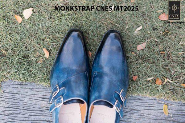 Giày da nam đẹp Monkstrap CNES MT2025 001