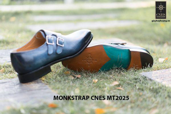 Giày da nam đẹp Monkstrap CNES MT2025 007