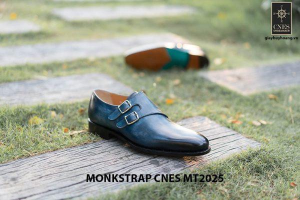 Giày da nam đẹp Monkstrap CNES MT2025 006