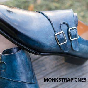 Giày da nam đẹp Monkstrap CNES MT2025 005