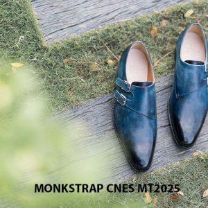 Giày da nam đẹp Monkstrap CNES MT2025 004