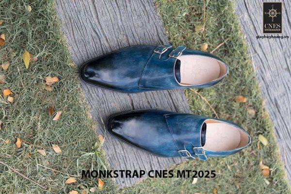 Giày da nam đẹp Monkstrap CNES MT2025 003