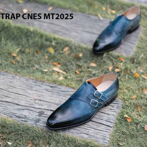 Giày da nam đẹp Monkstrap CNES MT2025 002