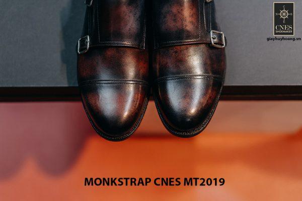 Giày da nam xỏ chân Monkstrap CNES MT2019 004