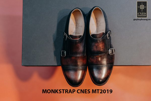 Giày da nam xỏ chân Monkstrap CNES MT2019 001