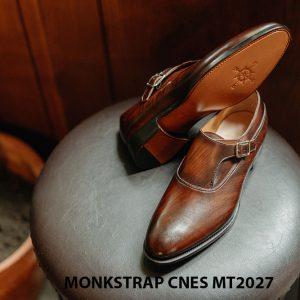 Giày da nam chính hãng Monkstrap CNES MT2027 004