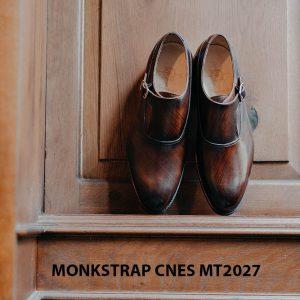 Giày da nam chính hãng Monkstrap CNES MT2027 001