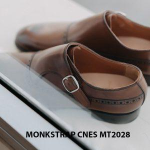 Giày tây nam không dây Monkstrap CNES MT2028 005