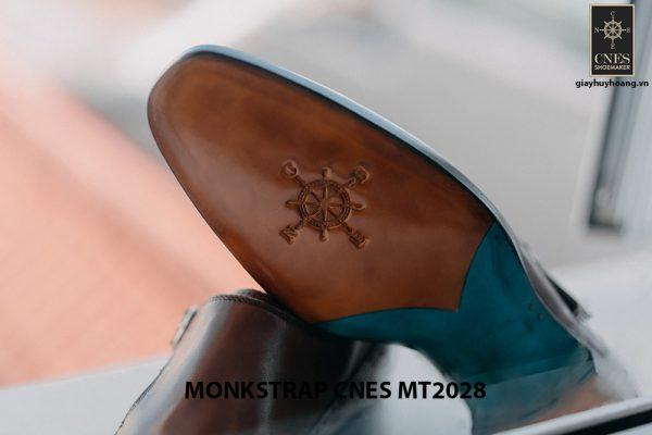 Giày tây nam không dây Monkstrap CNES MT2028 004