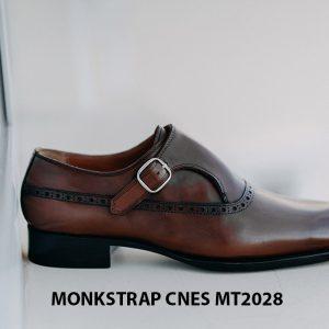 Giày tây nam không dây Monkstrap CNES MT2028 003