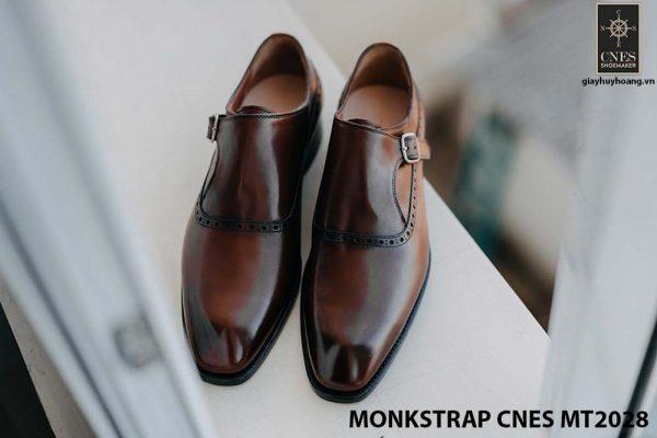 Giày tây nam không dây Monkstrap CNES MT2028 001