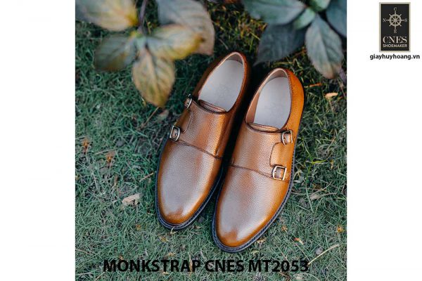 Giày tây nam thủ công Monkstrap CNES MT2053 001