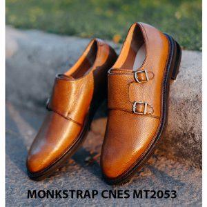 Giày tây nam thủ công Monkstrap CNES MT2053 003