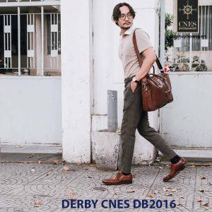 Giày tây nam Derby CNES DB2016 007