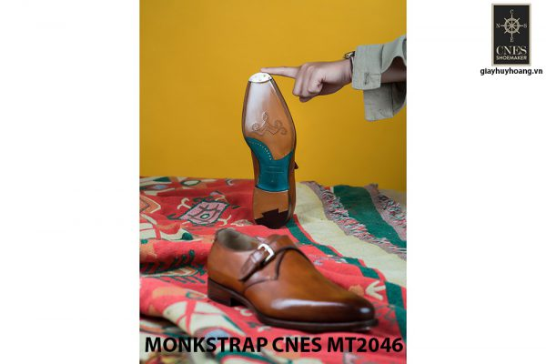 Giày tây nam chính hãng Monkstrap CNES MT2046 002