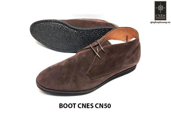 Giày da nam cổ lửng ChukkaBoot CNES CN50 001