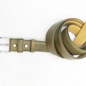 Dây nịt thắt lưng nam đầu kim da bò 2 lớp CNES 026