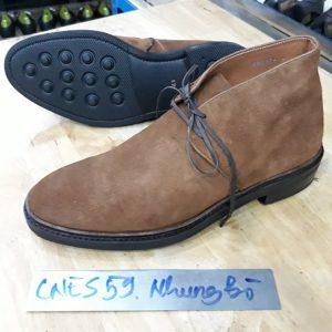Giày da lộn Boot nam CNES cnes59 001