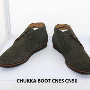 Giày da nam cổ lửng ChukkaBoot CNES CN50 009