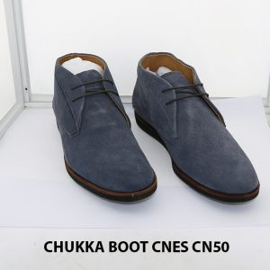 Giày da nam cổ lửng ChukkaBoot CNES CN50 006