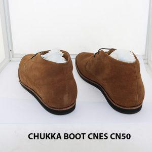 Giày da nam cổ lửng ChukkaBoot CNES CN50 005