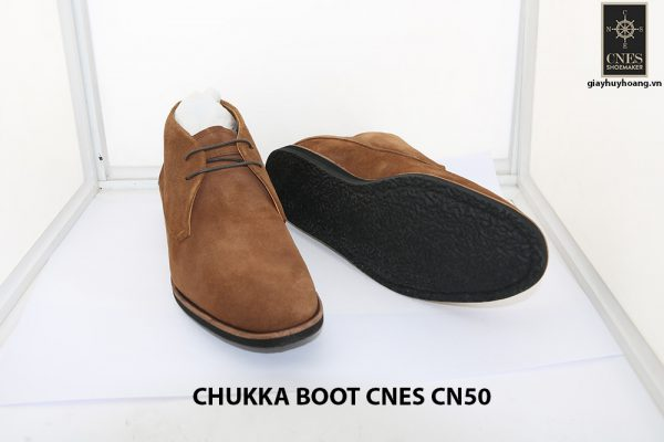 Giày da nam cổ lửng ChukkaBoot CNES CN50 004