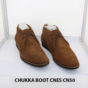 Giày da nam cổ lửng ChukkaBoot CNES CN50 002