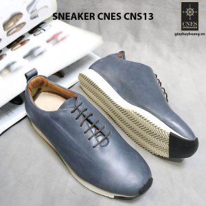 Giày da nam đế bằng Sneaker Cnes CNS13 002