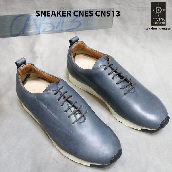 Giày da nam đế bằng Sneaker Cnes CNS13 001