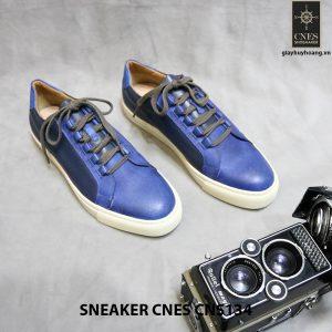 Giày da nam thể thao Sneaker Cnes 134 001