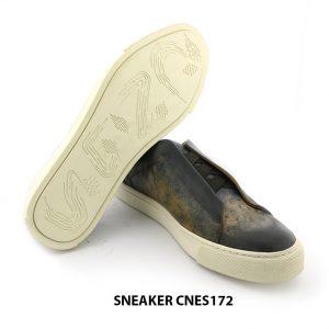 [Outlet size 39+40+43] Giày da Sneaker nam CNES172 005