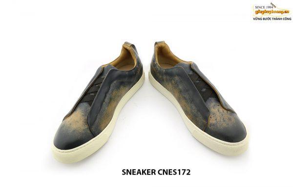 [Outlet size 39+40+43] Giày da Sneaker nam CNES172 004