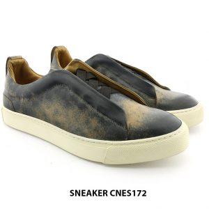 [Outlet size 39+40+43] Giày da Sneaker nam CNES172 003