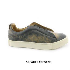 [Outlet size 39+40+43] Giày da Sneaker nam CNES172 001