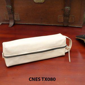 Bóp da đựng xi kem dưỡng giày cao cấp CNES TX080 001