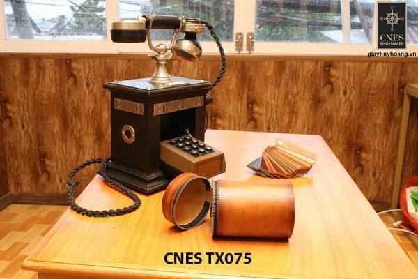 Túi da đựng phụ kiện giày tây CNES TX075 004