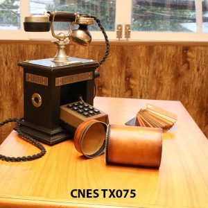 Túi da đựng phụ kiện giày tây CNES TX075 003