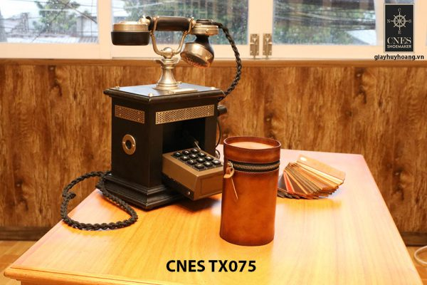 Túi da đựng phụ kiện giày tây CNES TX075 001