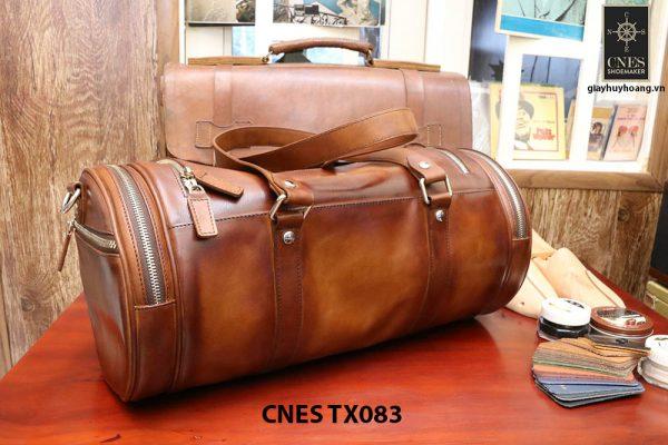 Túi xách du lịch da bò nam CNES TX083 003