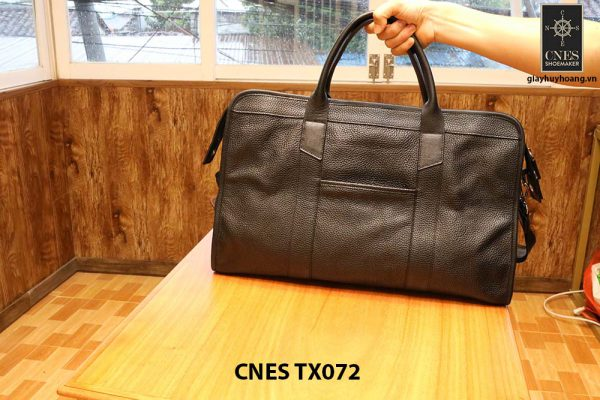 Cặp túi xách da hột nam CNES TX072 001